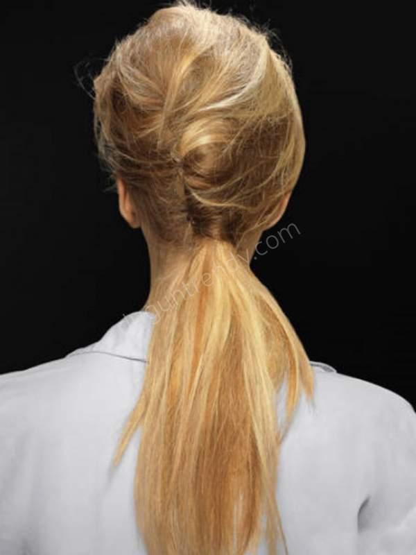 at kuyruğu nişan saçı modelleri