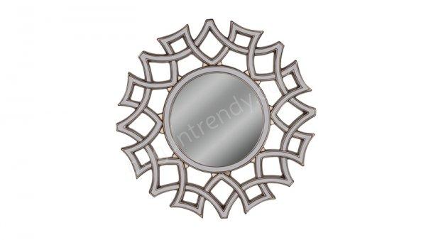 yuvarlak formda dekoratif ayna modeli