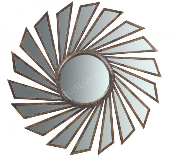 güneş desenli ayna modeli