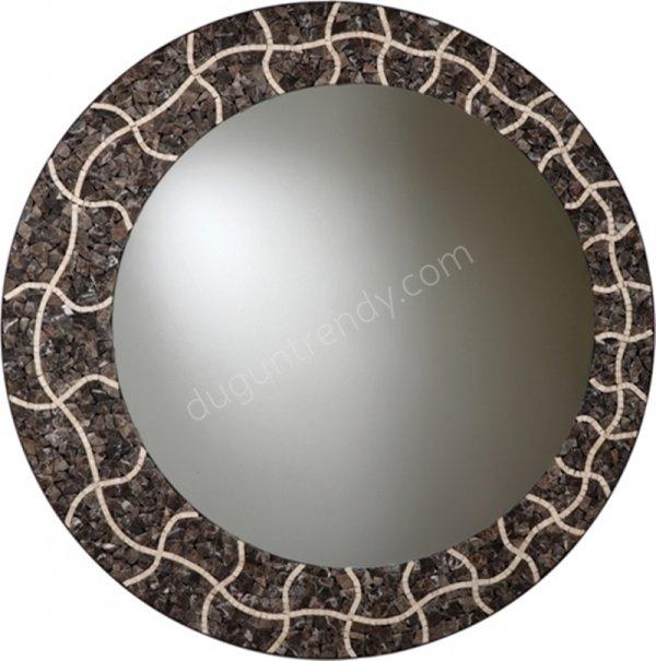 küçük taş süslemeli ayna modeli