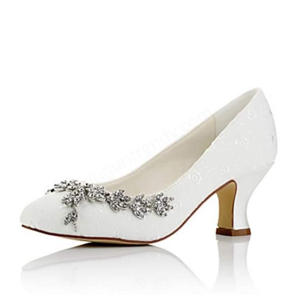 taşlı kısa topuklu gelin ayakkabısı modelleri
