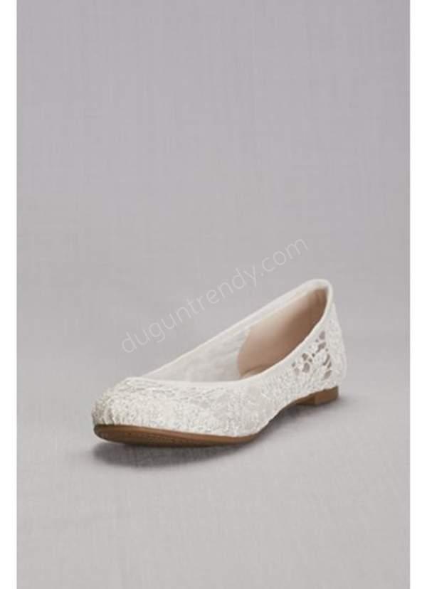 romantik gelin ayakkabısı