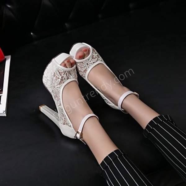 Açık Gelin Ayakkabısı Modeli