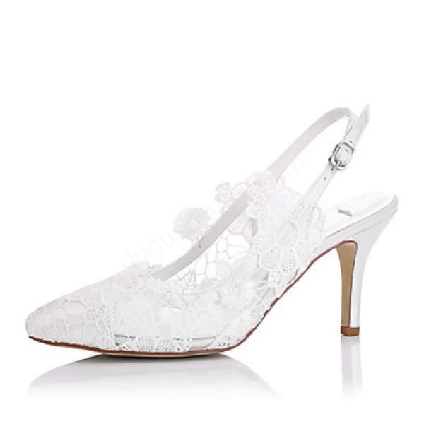 Açık Topuklu Gelin ayakkabı modeli