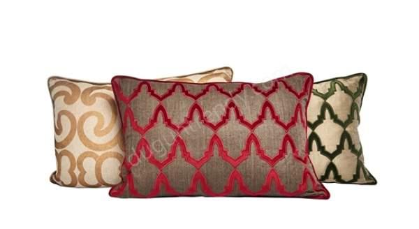 desenli dekoratif yastık modeli