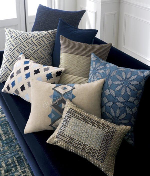 desenli dekoratif yastık modelleri
