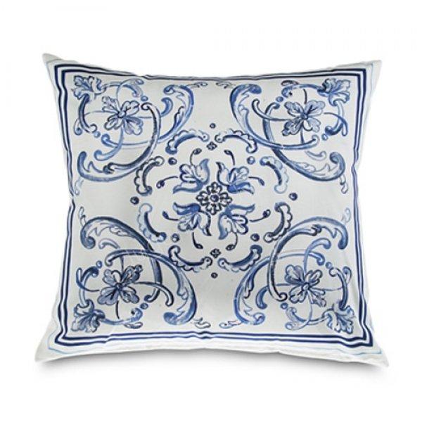 sade desenli dekoratif yastık modeli