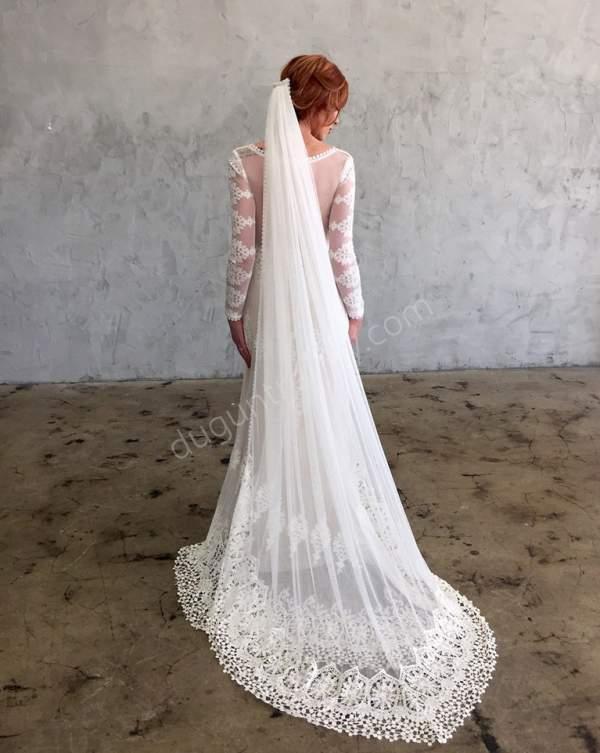 Duvak Modeli 2018 Dantelli