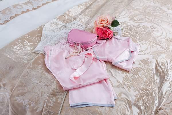 saten pijama takımı modeli
