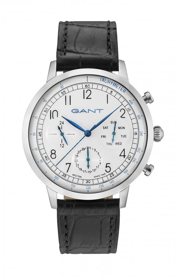siyah kayışlı beyaz kasalı erkek kol saati modeli