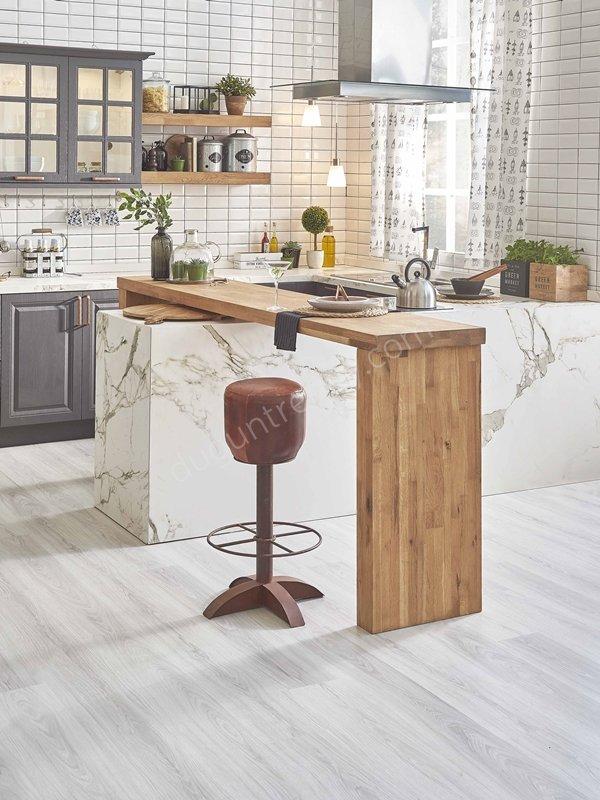 açık mutfaklara uygun mutfak dolabı modeli