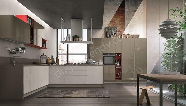 L form mutfak dolabı modeli