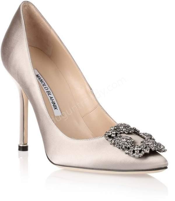 Saten Kumaşlı Abiye Ayakkabısı