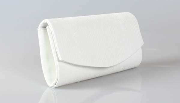 Sade düz beyaz gelin çantası modelleri nelerdir