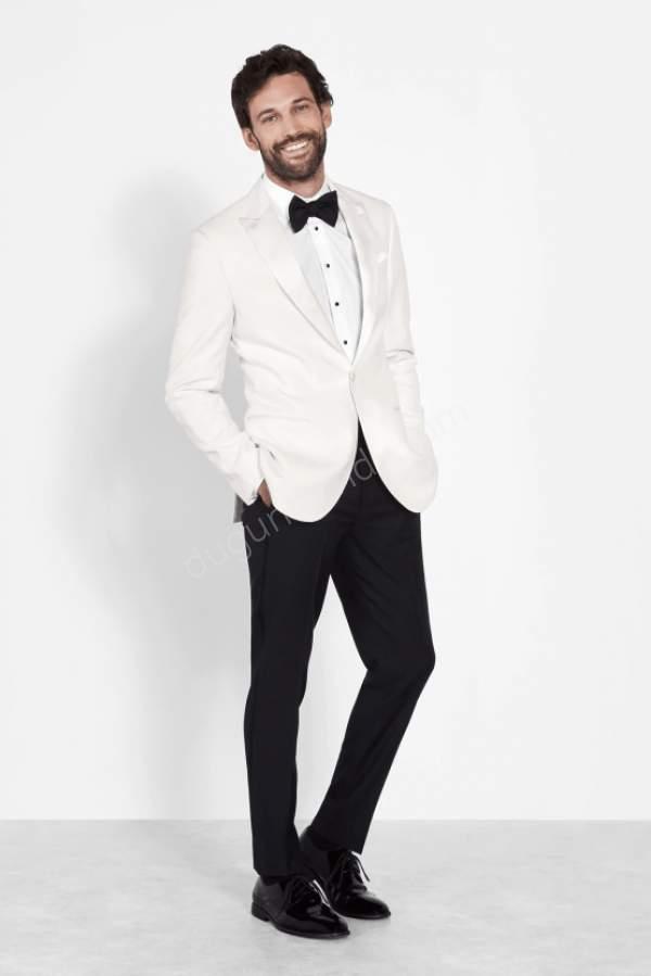 Siyah Beyaz Damatlık Modeli