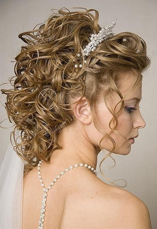 ince dalgalı gelin saçı