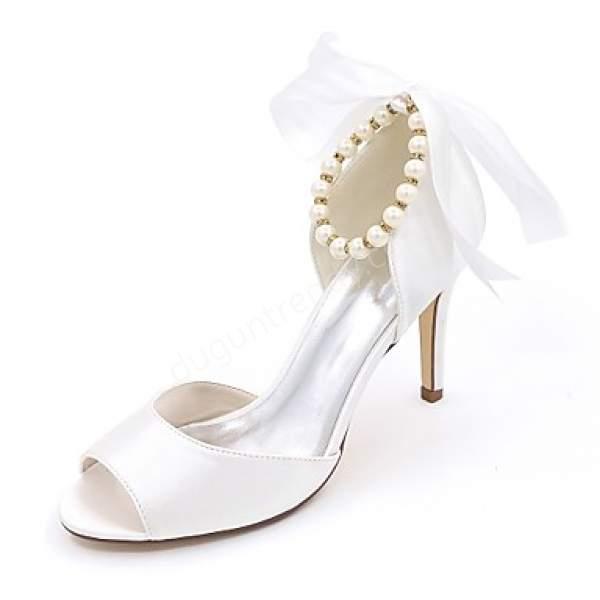 boncuklu gelin ayakkabısı modelleri nelerdir