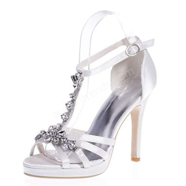 yüksek topuklu açık gelin ayakkabısı modelleri nelerdir