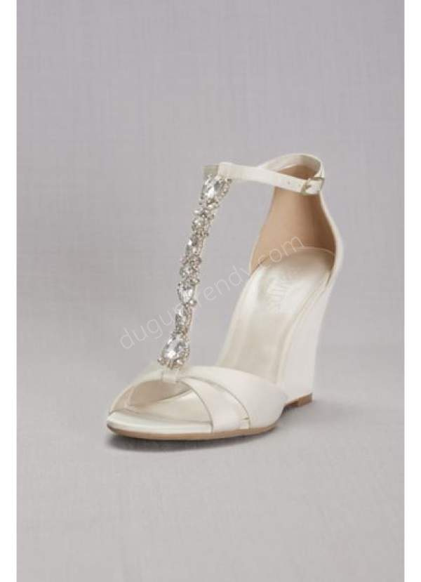 dolgu topuklu gelin ayakkabısı modelleri nelerdir