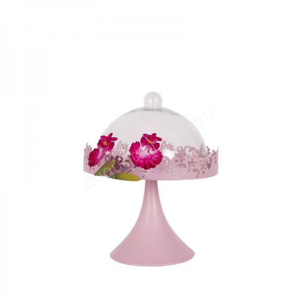 çiçek desenli saklama kabı modeli