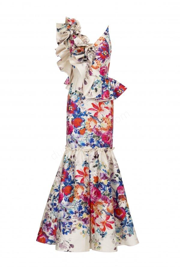rengarenk elbise modeli