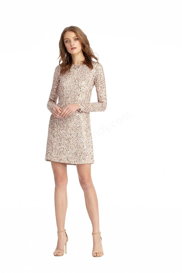 düz ve mini uzun kollu elbise modeli