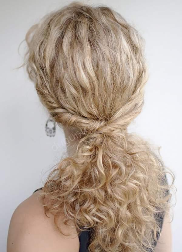Yarı Toplu Kıvırcık Gelin Saçı Modeli Örnekleri Nelerdir