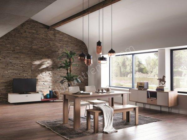 yüksek ayaklı yemek odası modeli