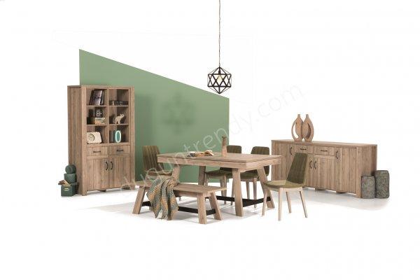 ahşap yemek odası modeli