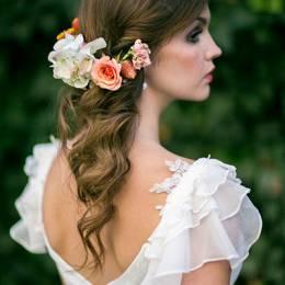 Çiçekli Gelin Saçı