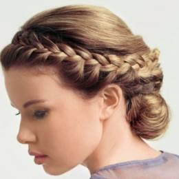 Örgülü Nişan Saçı Modelleri