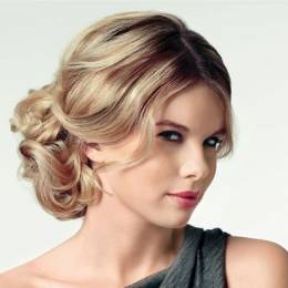 Topuz Nişan Saçı Modelleri