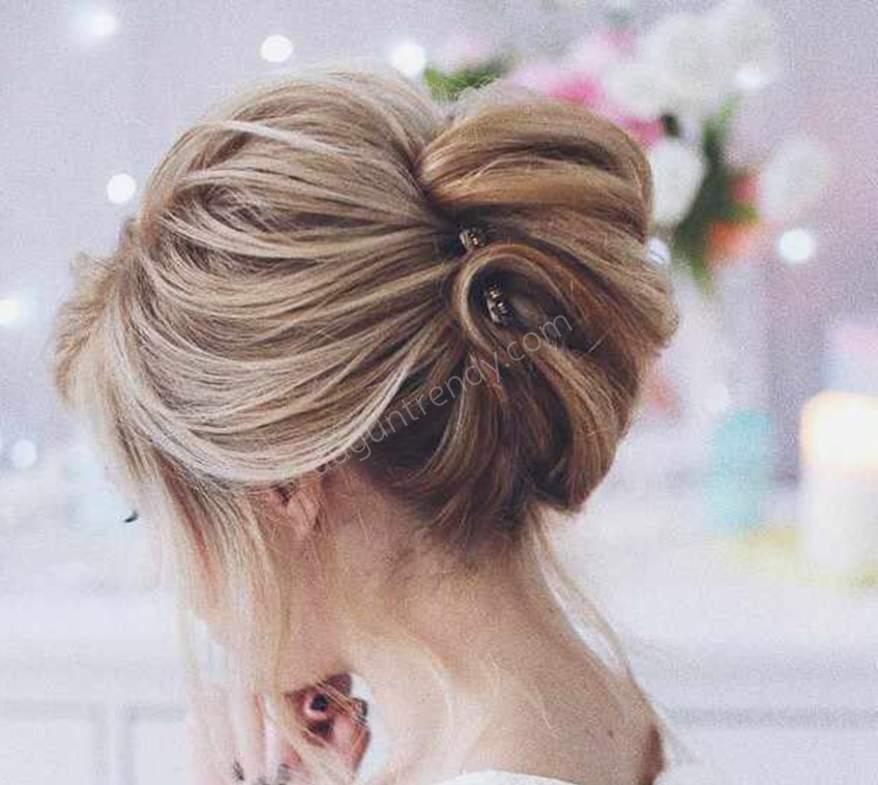 2018 gelin saç modelleri