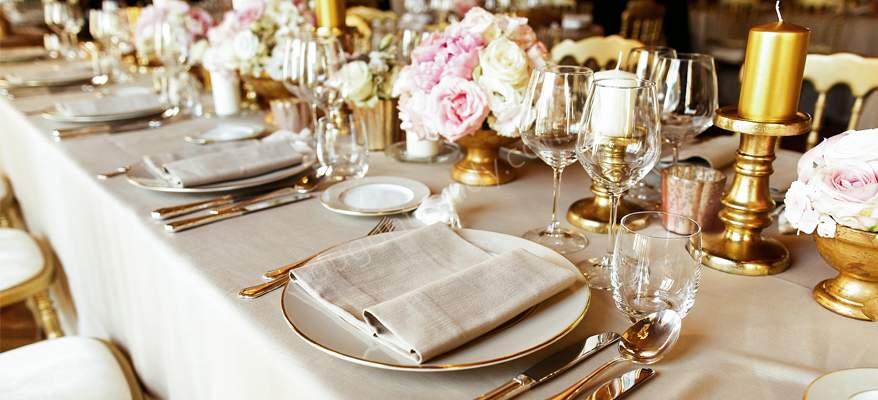 Düğünde Açık Büfe Yemek Seçimi
