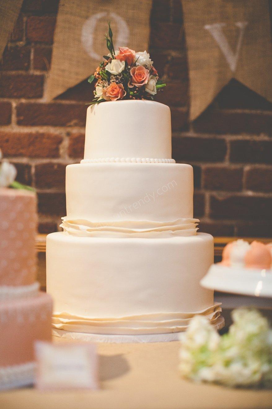 düğün pastası masası
