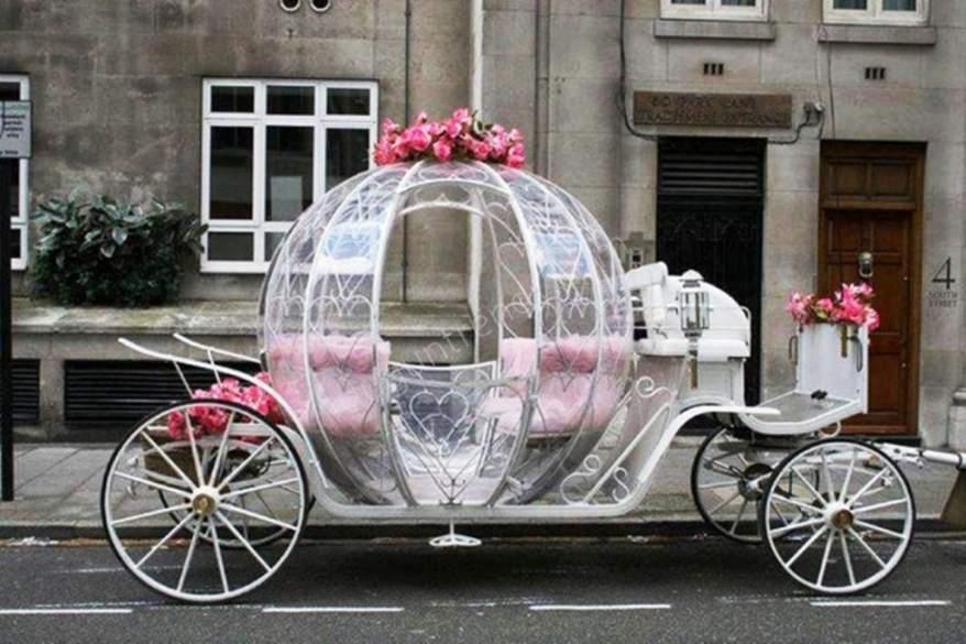 romantik gelin arabası