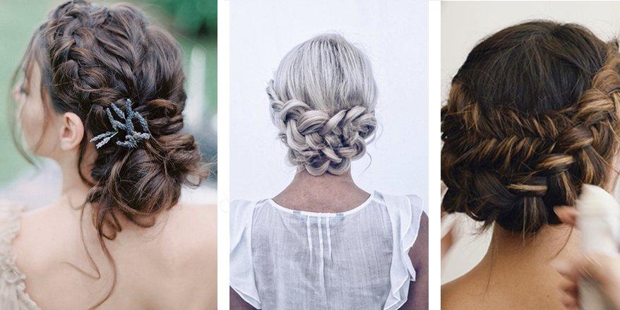 Örgü Gelin Saçı Modelleri Örnekleri