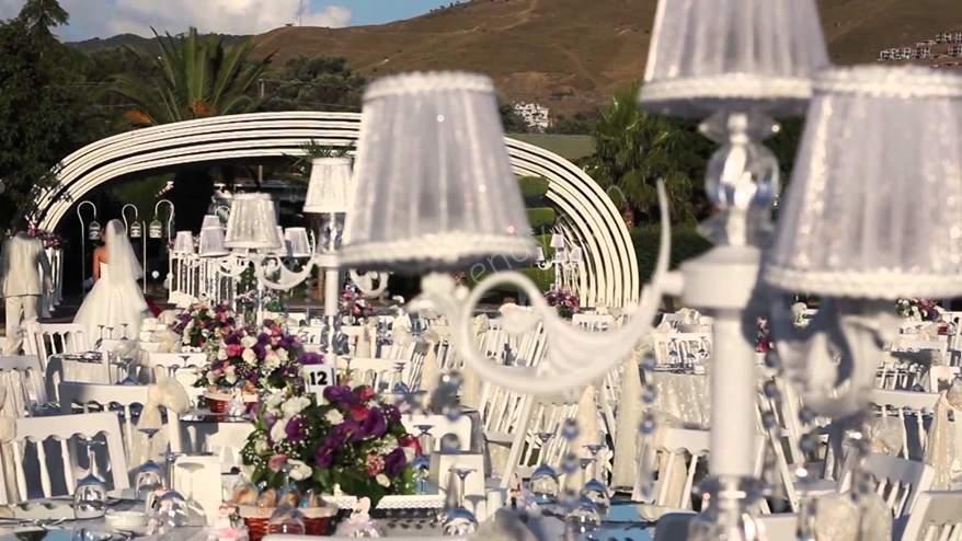 İzmirde en gözde kır düğünü mekanı