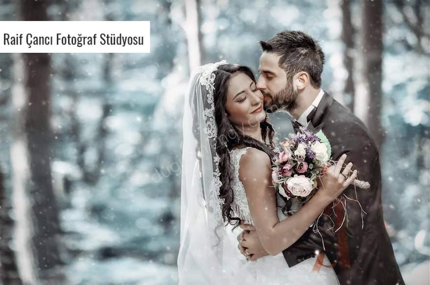 Kış Düğünlerine Uygun Fotoğraf Fikirleri Nelerdir