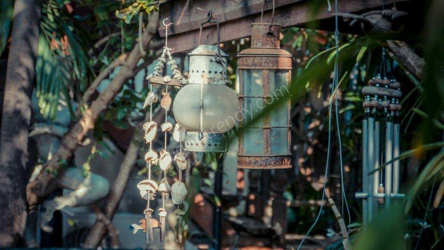 vintage temalı aydınlatma