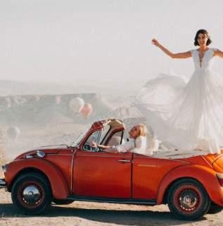 Gelin Arabası Süslemesinde Farklı Modeller