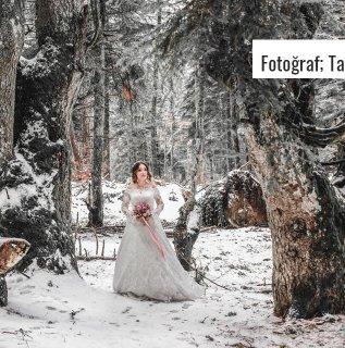 Kış Düğünlerine Uygun Fotoğraf Fikirleri